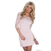 Elegantna roza oblekica Alessandra