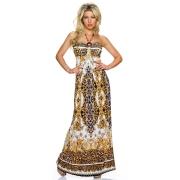 Poletna belo-modra oblekica Perzija
