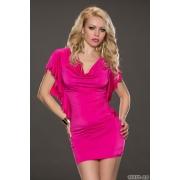 Zapeljiva roza oblekica Sheel