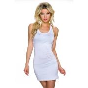 Kratka bela oblekica Becky