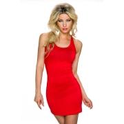 Kratka rdeča oblekica Becky